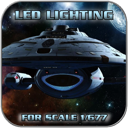 LED SET for U.S.S. VOYAGER from Revell