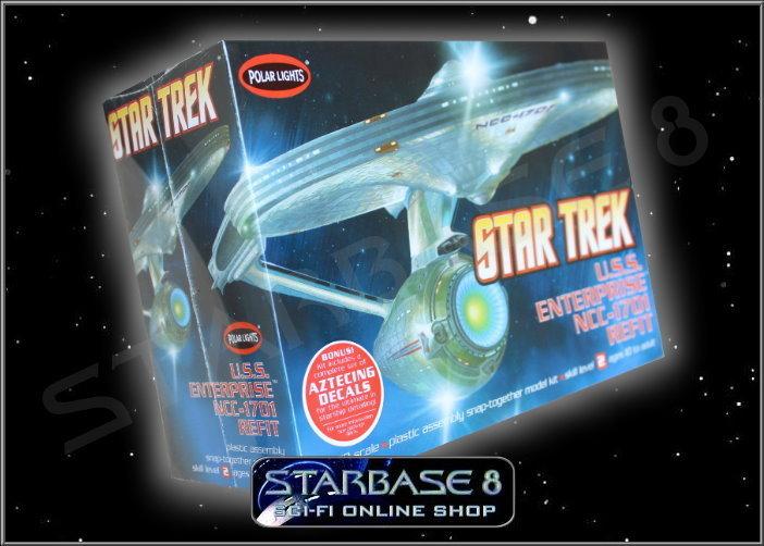 Star Trek Modell Led Lights Uss Enterprise 1701 Refit Star