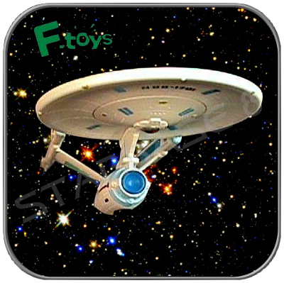 REFIT USS ENTERPRISE NCC-1701 (F-TOYS Miniature Model)