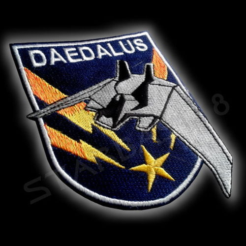 DAEDALUS F-302 PILOTEN UNIFORM PATCH