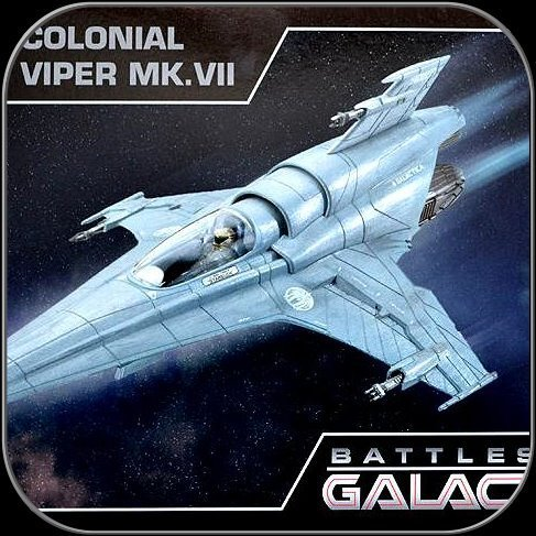 COLONIAL VIPER MK7 - REVELL BATTLESTAR GALACTICA MODEL KIT