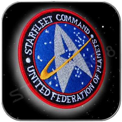STARFLEET COMMAND UFP UNIFORM AUFNÄHER