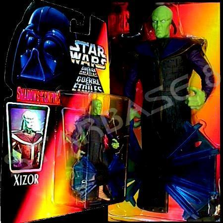 Prince XIZOR - BLACK SUN LORD (STAR WARS ACTION FIGUR)