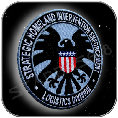 S.H.I.E.L.D. LOGISTIC DIVISION UNIFORM PATCH