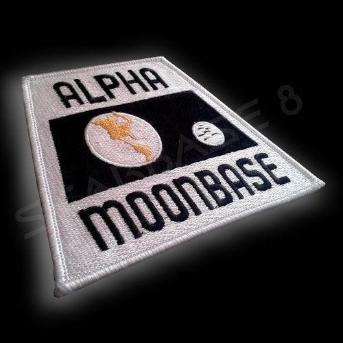 ALPHA MOONBASE SEASON ONE UNIFORM AUFNÄHER