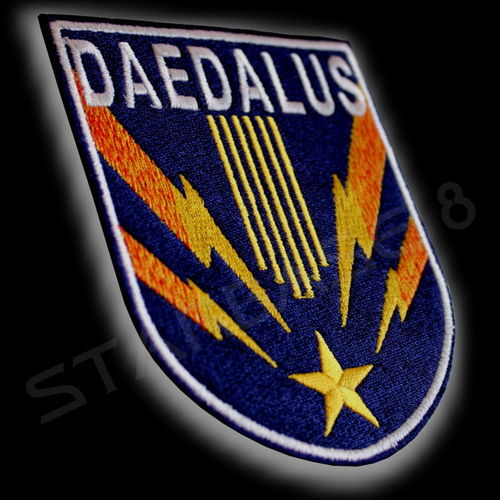 DAEDALUS CREW OFFICER UNIFORM PATCH