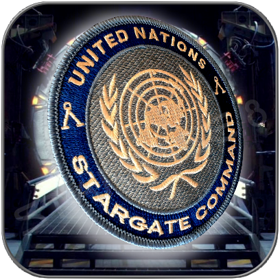 STARGATE COMMAND UNITED NATIONS - UNIFORM PATCH