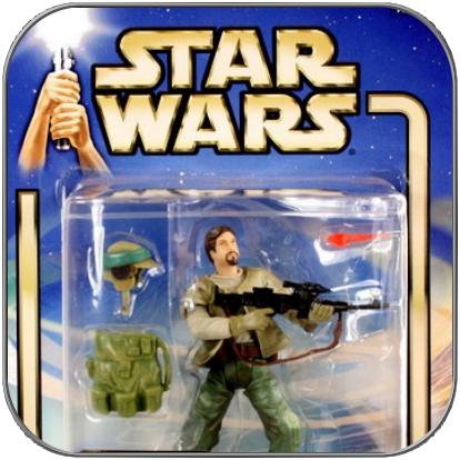 ENDOR REBEL SOLDIER (Hasbro Action Figur)