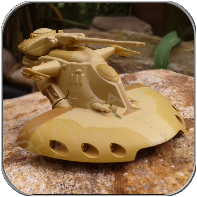 AAT - ARMORED ASSAULT TANK (F-TOYS Miniatur-Model)