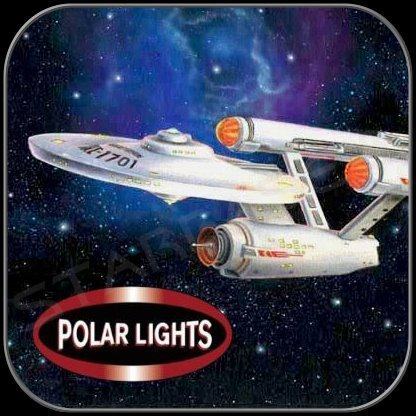 ENTERPRISE LUNCHBOX TIN EDITION (1/1000 POLAR LIGHTS BAUSATZ)