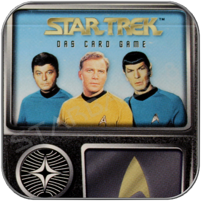 STAR TREK DAS KARTENSPIEL - skybox CARD GAME GERMAN ED.