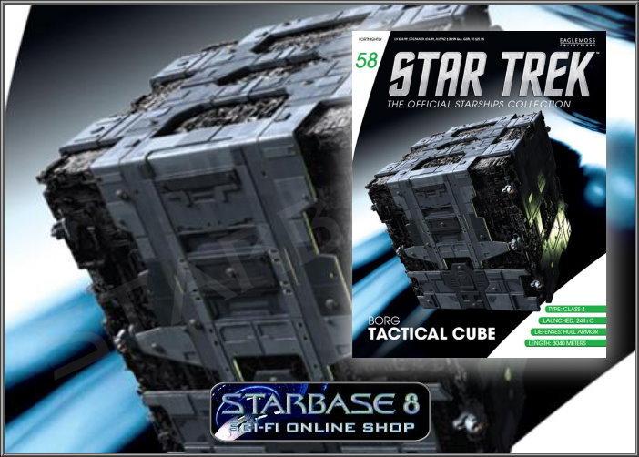 tactical borg cube star trek eaglemoss 58 raumschiffsammlung shop. Black Bedroom Furniture Sets. Home Design Ideas