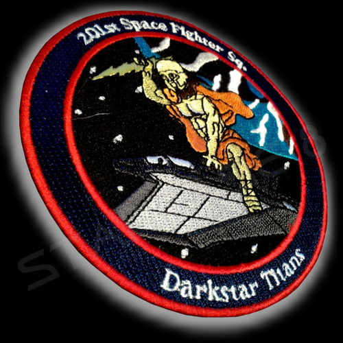 DARKSTAR TITANS F-302 PILOT UNIFORM PATCH