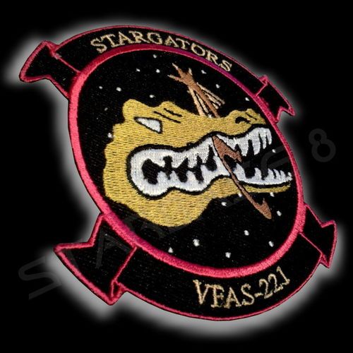 STARGATORS F-302 PILOT UNIFORM PATCH