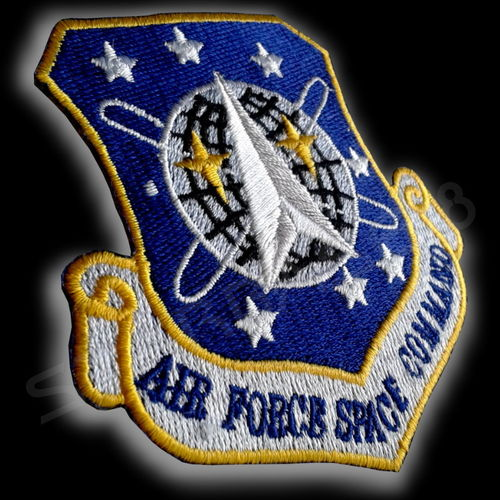 AIR FORCE SPACE COMMAND UNIFORM PATCH