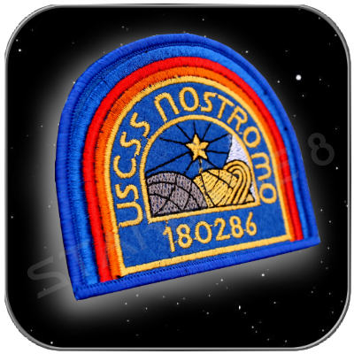 USCSS NOSTROMO 180286 CREW UNIFORM PATCH
