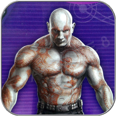 DRAX the DESTROYER - HASBRO ACTION FIGURE - GUARDIANS OF THE GALAXY