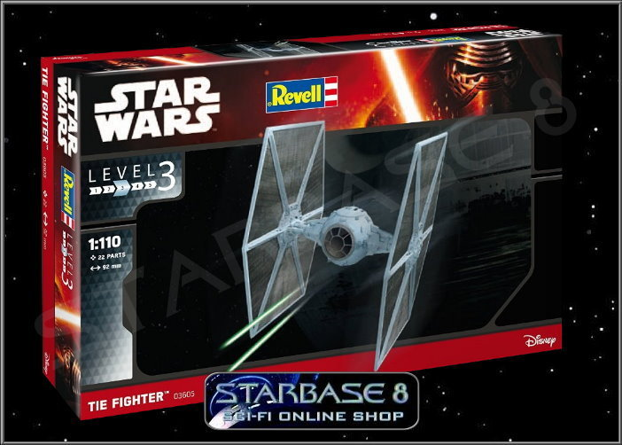 imperial tie fighter star wars revell modell bausatz rogue one. Black Bedroom Furniture Sets. Home Design Ideas
