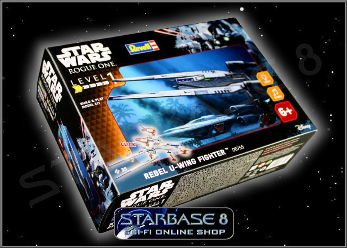 rebel u wing fighter revell build play star wars bausatz rogue one. Black Bedroom Furniture Sets. Home Design Ideas