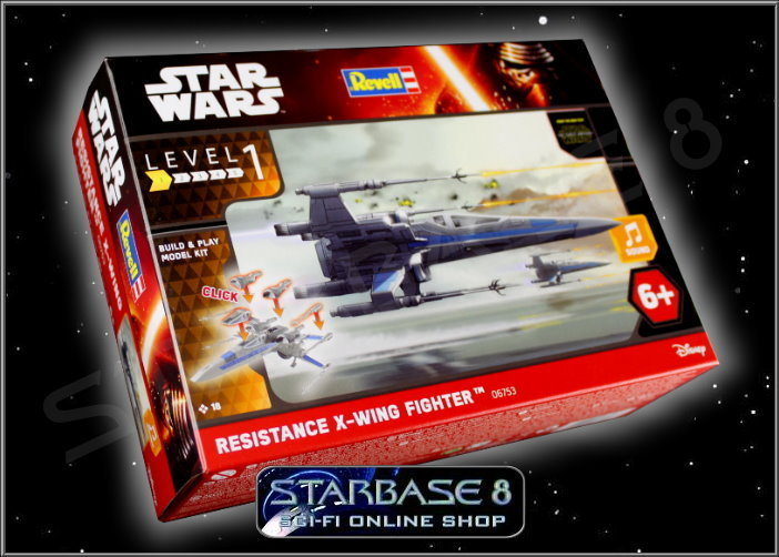 resistance x wing fighter revell build play star wars bausatz. Black Bedroom Furniture Sets. Home Design Ideas