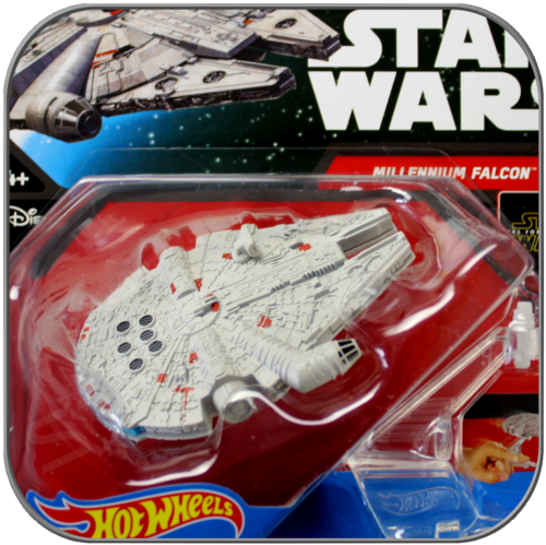 MILLENNIUM FALCON E7 - STAR WARS HOT WHEELS DIE-CAST MODEL