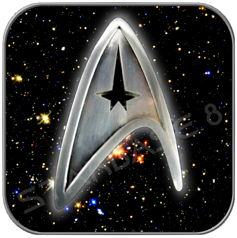 COMMAND - STARFLEET DIVISION UNIFORM EMBLEM PIN