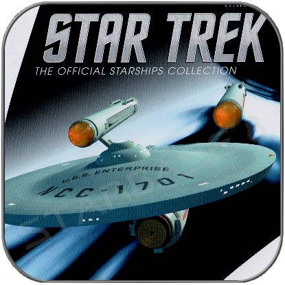 U.S.S. ENTERPRISE 1701 (EAGLEMOSS UK Spezial Ausgabe)