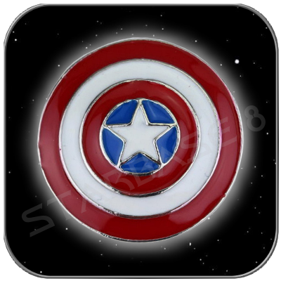 CAPTAIN AMERICA SHIELD PIN ANSTECKER - MARVEL CINEMATIC