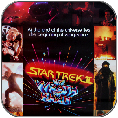 AUSHANGSPOSTER zu STAR TREK II - WRATH OF KHAN