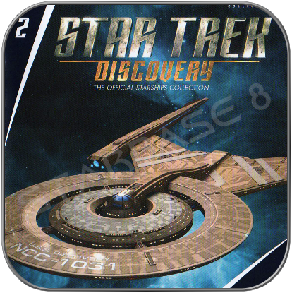 USS DISCOVERY - STAR TREK DISCOVERY (EAGLEMOSS UK Issue 02)