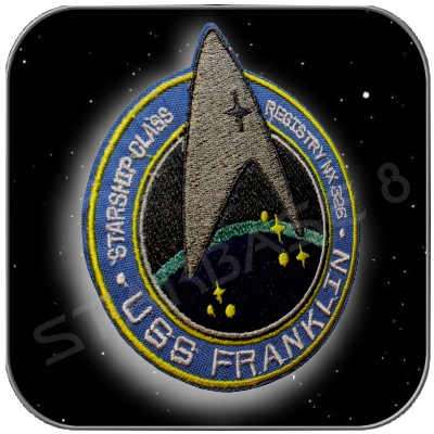 USS FRANKLIN UNIFORM PATCH (KELVIN TIMELINE)