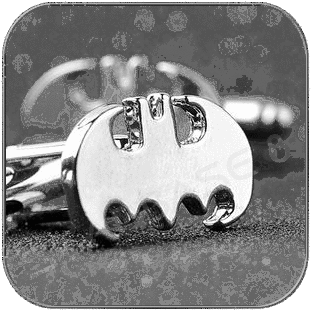 BATMAN CUFFLINKS - STAR TREK