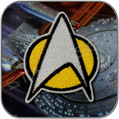 TNG STARFLEET COMMUNICATOR PATCH