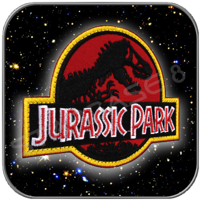 JURASSIC PARK HIGH QUALITY PATCH with KLETT