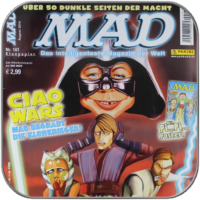 MAD 161 - CIAO WARS - MAD BEGRÄBT DIE KLONKRIEGER (German)