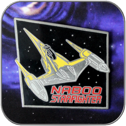 NABOO STARFIGHTER - STAR WARS PIN