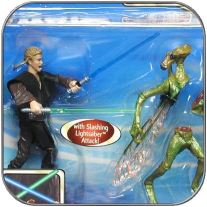 ANAKIN vs. GEONOSIAN WARRIOR - STAR WARS ACTION FIGUR SET