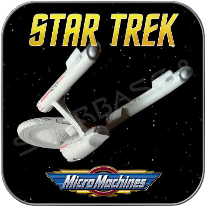 U.S.S. ENTERPRISE NCC-1701 - STAR TREK MICRO MACHINES