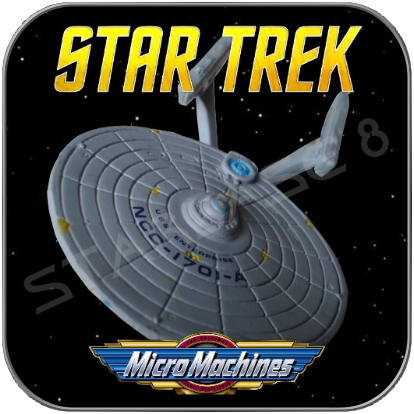 U.S.S. ENTERPRISE NCC-1701-A - STAR TREK MICRO MACHINES