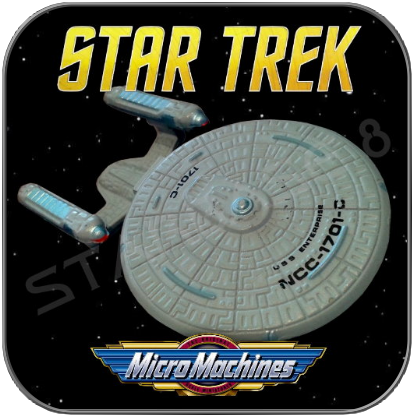U.S.S. ENTERPRISE NCC-1701-C - STAR TREK MICRO MACHINES