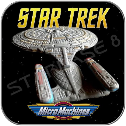 MOVIE ENTERPRISE NCC-1701-D - STAR TREK MICRO MACHINES