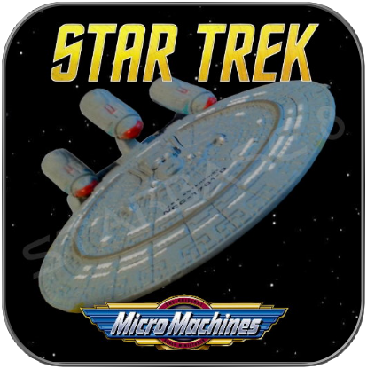 FUTURE ENTERPRISE NCC-1701-D - STAR TREK MICRO MACHINES