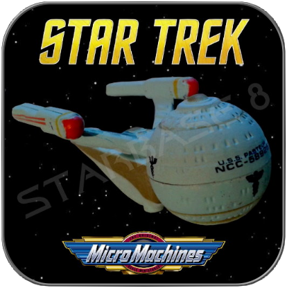 U.S.S. PASTEUR - OLYMPIC CLASS - STAR TREK MICRO MACHINES