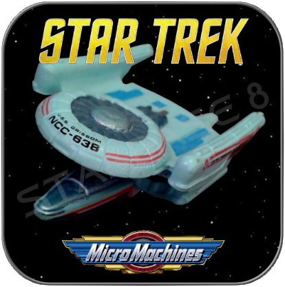 U.S.S. GRISSOM - OBERTH CLASS - STAR TREK MICRO MACHINES