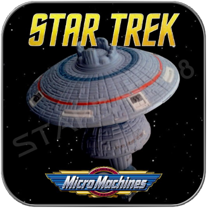 FEDERATION EARTH SPACEDOCK - STAR TREK MICRO MACHINES