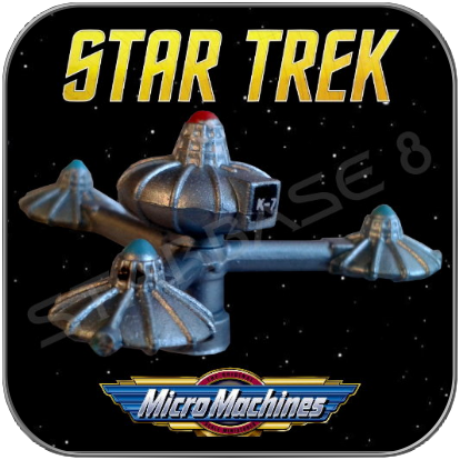 FEDERATION K7 SPACE-STATION - STAR TREK MICRO MACHINES