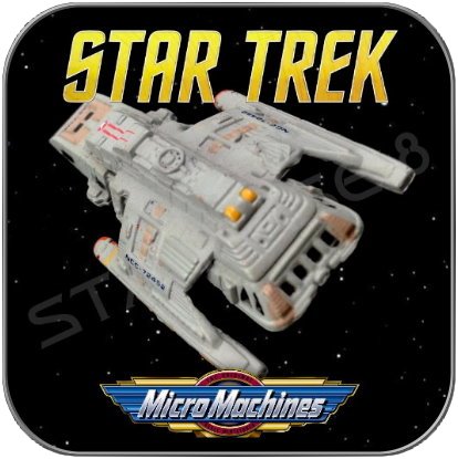 FEDERATION RUNABOUT SHUTTLE - STAR TREK MICRO MACHINES