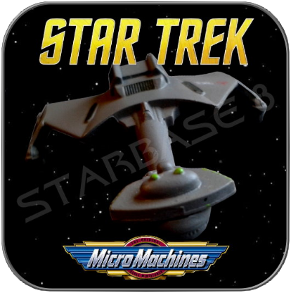 KLINGON D7 BATTLECRUISER - STAR TREK MICRO MACHINES
