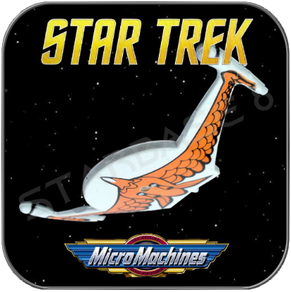BIRD OF PREY - ROMULAN EMPIRE - STAR TREK MICRO MACHINES