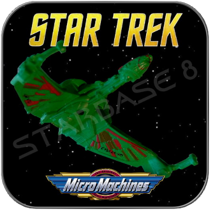 BIRD OF PREY - KLINGON B'REL CLASS - STAR TREK MICRO MACHINES